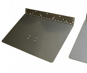 Cheap Mirror Polishing 12x18 Stainless Steel Stamping Parts Boat Trim Tab for sale