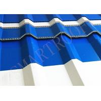 Water Resistance 10mm Plastic Sheet Roof With Heat Preservation , Hard To Break