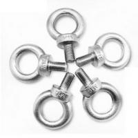 Cheap Grade 4.8 Carbon Steel Metal Swivel Hook Lifting Eye Bolt For Rigging Hardware for sale