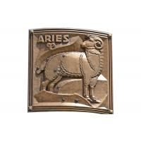 Cheap Contemporary Metal Aries Bronze Relief For Outdoor / Indoor Decoration for sale