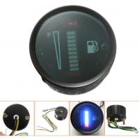 Cheap 12v 52mm Waterproof Led Display motorcycle fuel gauge for sale