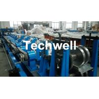Fully Automatic Galvanized Steel CZ Purlin Roll Forming Machine , Steel CZ Section Profile Roll Forming Equipment Manufactures