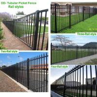 Cast iron fencing steel rail fence hercules with