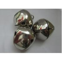 Cheap Holiday decorations silver cross jingle bell Holiday decorations silver cross jingle bells for sale