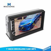 Cheap Universal 2 Din 7inch HD Touch Screen Car MP5 video Player With Bluetooth Phone Radio Stereo FM/ USB/Backup Camera for sale