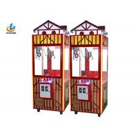 Cheap Cute Coin Operated Claw Crane Machine With Electric Motor / Toy Grabber Machine for sale