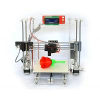 Cheap Reprap Prusa I3 Clear Frame Full 3d Printer Kit with LCD Screen Gt2 Mk8 for sale