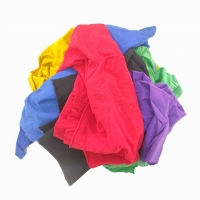 Cheap 35x60cm Polo Colored Shirts Cut Mixed Cotton Rags for sale
