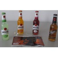 Cheap PP / PE / OPS Waterproof Self adhesive Label for Bottled Beverage for sale