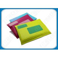 Cheap Colored Co-extruded Poly Bubble Envelopes , Waterproof Mailing Envelopes For Books for sale