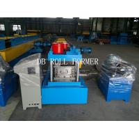 Cheap C Purlin Roll Forming Machine With Gcr15 Bearing Steel 12 Groups Rollers for Store Fixture for sale