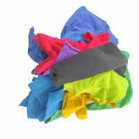 Cheap Marine Cleaning 30x55cm T Shirt Cut Mixed Cotton Rags for sale