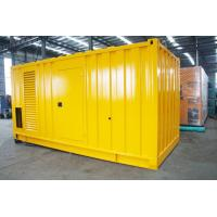 Cheap Soundproof Silent Diesel Generator Set 2500kva 400 / 230V AC Three Phase Output for sale