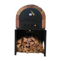 Cheap Commercial Kitchen Wood Fired Pizza Oven With Medium Gas Pizza Oven With High Quality Baking Equipment Stainless Steel for sale
