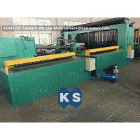 Cheap 5kw Automatic Wrapped Edge Gabion Machine Edge Wrapping Machine 4 Meter for sale