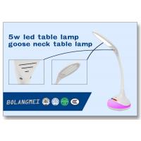 Quality Flexible cordless seven color change led study table lamp with SMD2835 LED bulb wholesale