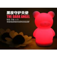 Cheap Multi - Function Cute Baby Night Light Teddy One Touch Wake Up Control System for sale