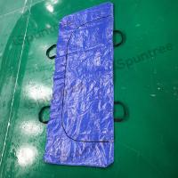 Buy cheap Funeral Supplies PEVA PE mortuary Body Bag for adults dead body Black Scrim from wholesalers