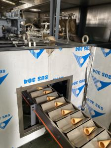 Cheap 3.37kw 8kg/h Natural Gas Suger Cone Baking Machine for sale