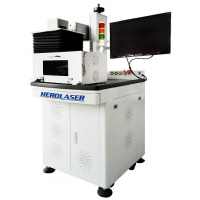 Cheap ISO Herolaser Equipment Open Type Fiber Laser Marking Machine Air Cooling 1064nm for sale