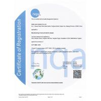 Globe Auto Industry Co.,Limited Certifications