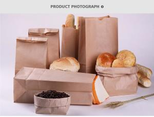 Cheap Brown Anti Oil Foil Lined Bags For Food for sale