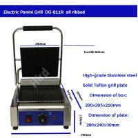 Quality Electric panini grill best contact grill sandwich panini grill DG-811R wholesale
