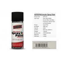 Cheap AEROPAK acrylic Spray Paint for car 400ml cream white with SGS certificate for sale