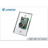 Cheap Two Colored LED Indication Door Release Button With Stainless Steel Plate for sale
