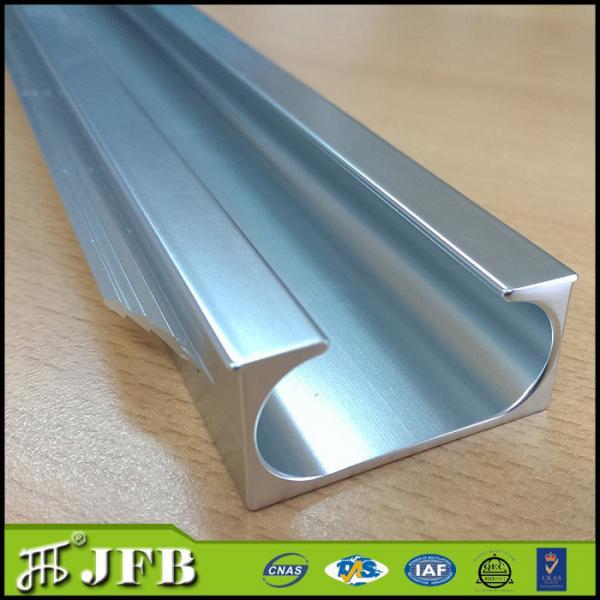 Pull Handle Edge Banding Frame Aluminum Profiles For