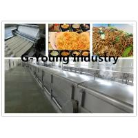 Cheap fully Automatic Fried Instant Noodle Making machinery production line frying line for sale