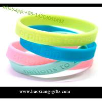 custom silicone rubber bracelets
