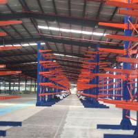 Cheap Customized Specialist Warehouse Storage Racks Adjustable Cantilever Racking System for sale