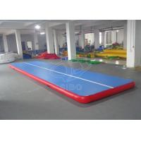 Cheap Blue 8*2*0.2m Air Floor Gymnastics Mat For Physical Training With CE for sale