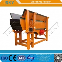 Cheap GZG Light Weight Low Noise 500tph Vibratory Feeder for sale