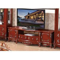 Cheap TV cabinet living room antique wooden furniture for sale
