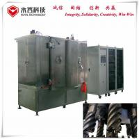 China Stainless Steel Drill Black Thin Film Coating Machine MF Sputtering UL Standard on sale