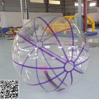 Cheap Large Summer Water Play Inflatable Balls , High Standards Inflatable Water Parks for sale