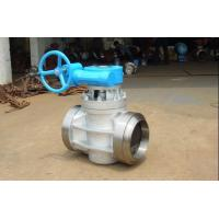 Buy cheap PTFE Teflon Sleeved & Inverted Pressure Balanced Lubricated Plug Valve 316 from wholesalers