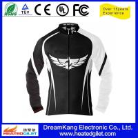 Cheap PU(Polyurethane) cover cordura heating system motorcycle jacket for sale