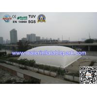 Buy cheap Single Layer Inflatable Tent Structure / Durable Inflatable Field Cover Tent from wholesalers