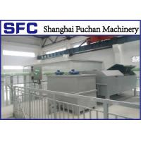 Cheap Continuous Operation Rotary Drum Thickener / Sludge Thickening Equipment for sale