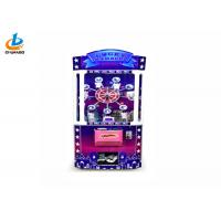 Cheap Steel PVC Acrylic Arcade Claw Machine , Lucky Number Toy Vending Game Machine for sale