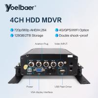 Cheap 4CH HDD Mobile DVR SD Card CCTV Mobile DVR With H.264 DVR Admin Password Reset for sale