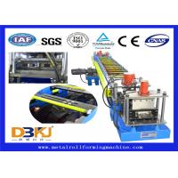 Cheap Constructional Use Purlin Roll Forming Machine / Full Auto Cold Roll Former for sale
