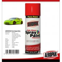 Cheap Colorful Aerosol Spray Paint 5 Minutes Surface Dry Time For Wood / Metal for sale