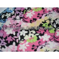 Cheap 100% Polyester FDY Printed Polar Fleece Fabric for Blanket KFE-010 for sale