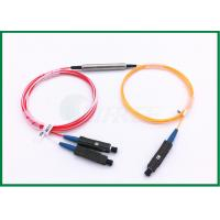 Buy cheap 1 x 2 1550nm Single Mode FC / APC 3 port circulator with MU connector from wholesalers