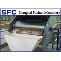Cheap Stainless Steel Dewatering Rotary Screener For Plam Oil Wastewater Treatment for sale