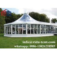 Buy cheap New Design Outdoor Party Tents , Luxury Clear Roof Pop Up Marquee Tent from wholesalers